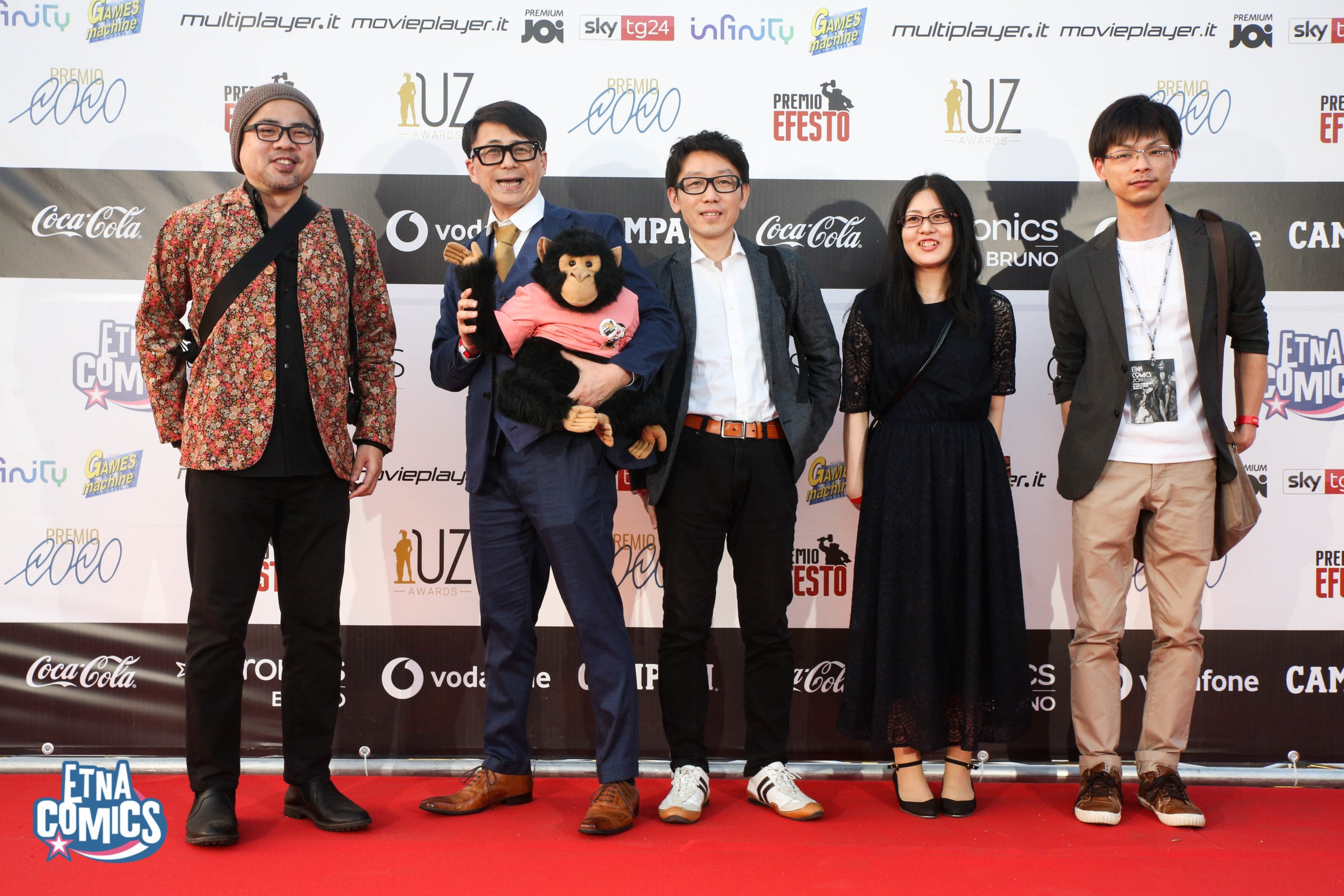 Red Carpet Etna Comics Awards 2019 Keo Marketing