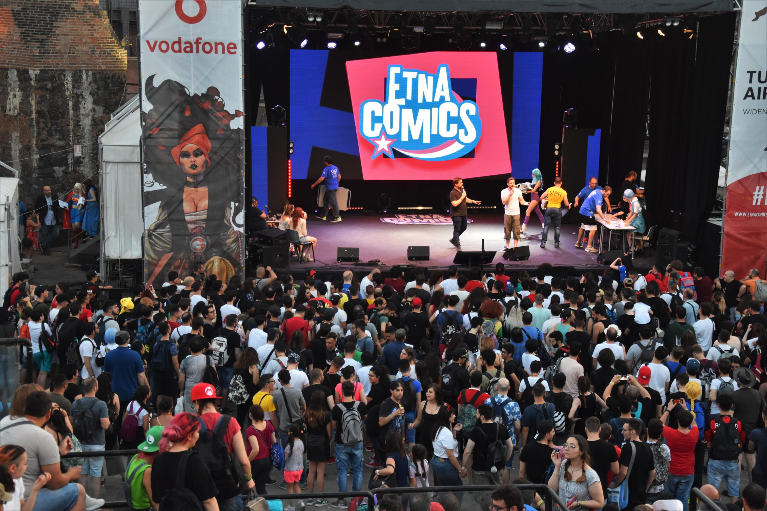 Vodafone Etna Comics 2019 Keo Marketing
