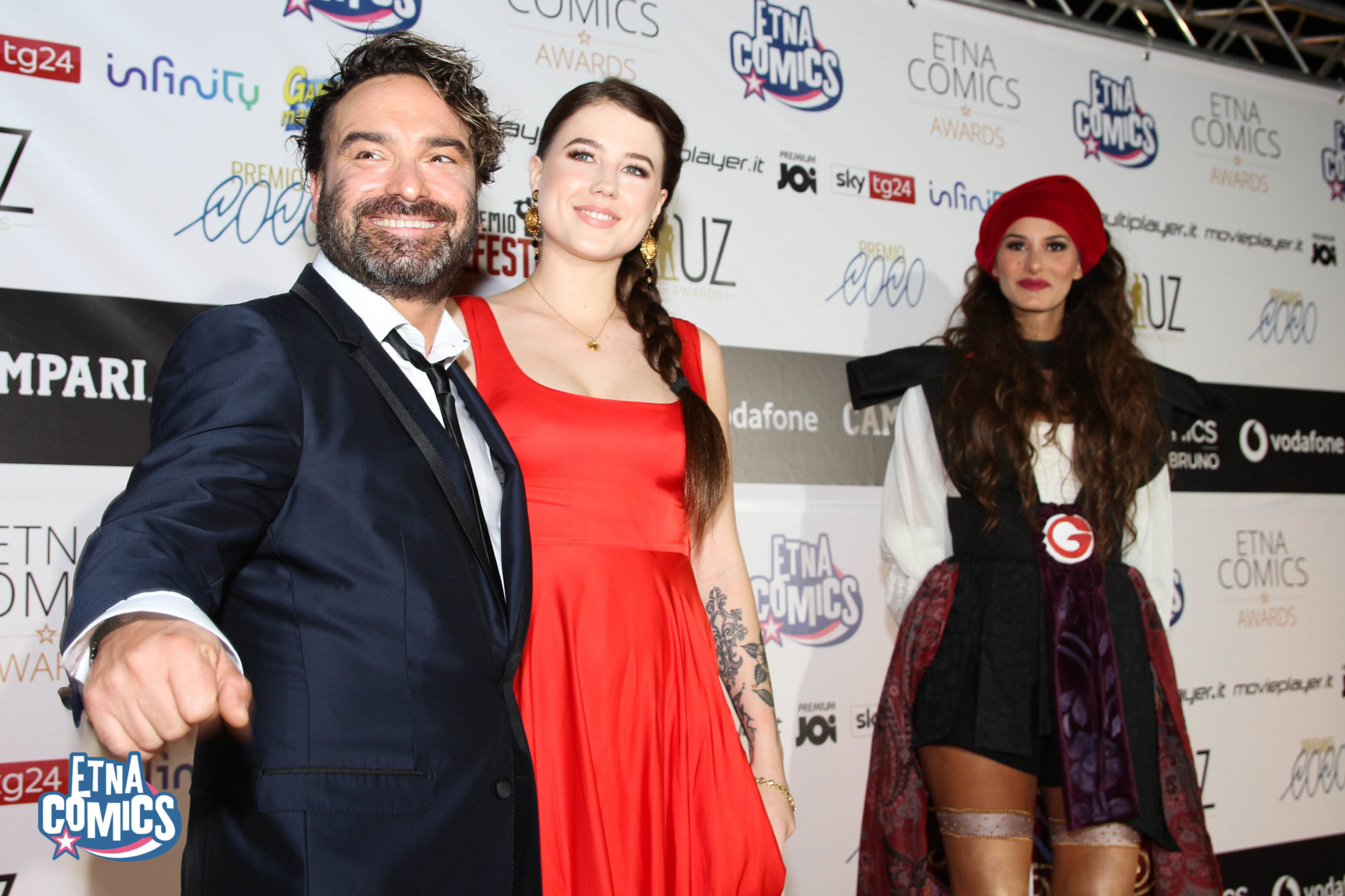 Galecki Red Carpet Etna Comics Awards 2019 Keo Marketing