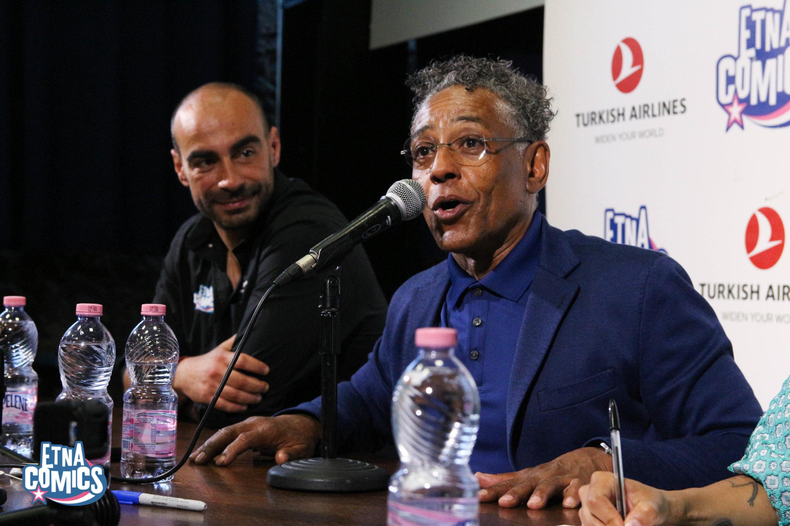 Giancarlo Esposito Etna Comics Awards 2019 Keo Marketing
