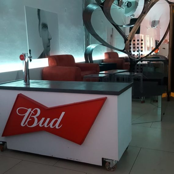 Elementi tailor made Budweiser - Spillatrice mobile