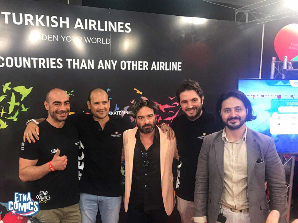 Turkish Airlines Etna Comics 2019 Keo Marketing