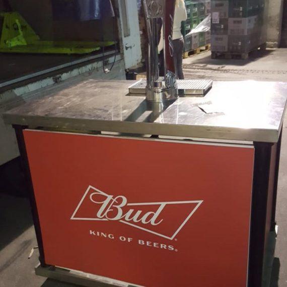 Elementi tailor made Budweiser - Spillatrice mobile 2