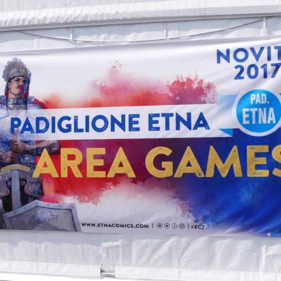 Area Games Etna Comics 2017 Keo Marketing