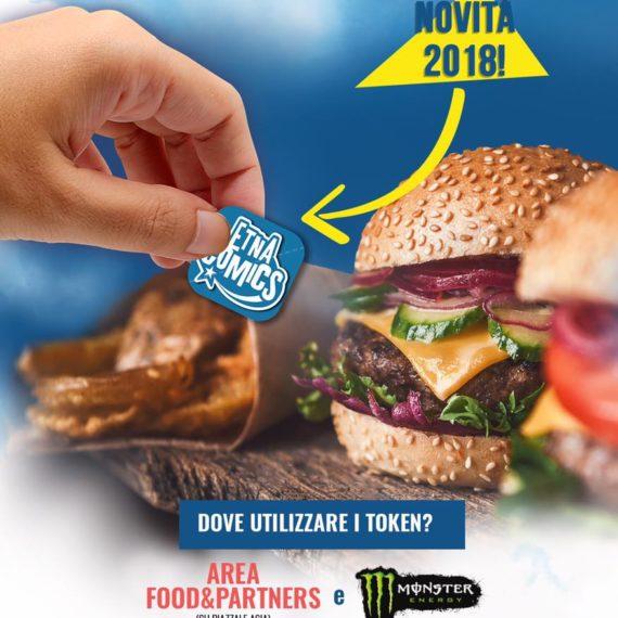 Area Food Etna Comics 2018 Keo Marketing
