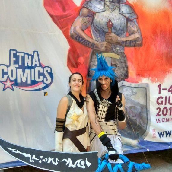 CosPlayer Etna Comics 2017 Keo Marketing