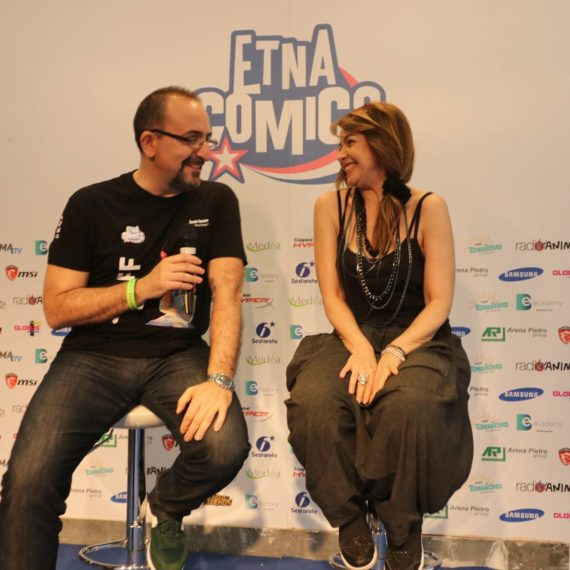 Cristina D'avena Etna Comics 2017 Keo Marketing