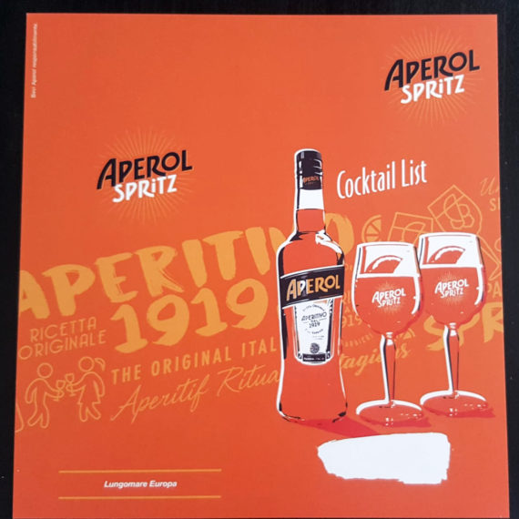 Elemento visibilità tailor made Aperol - Drink List