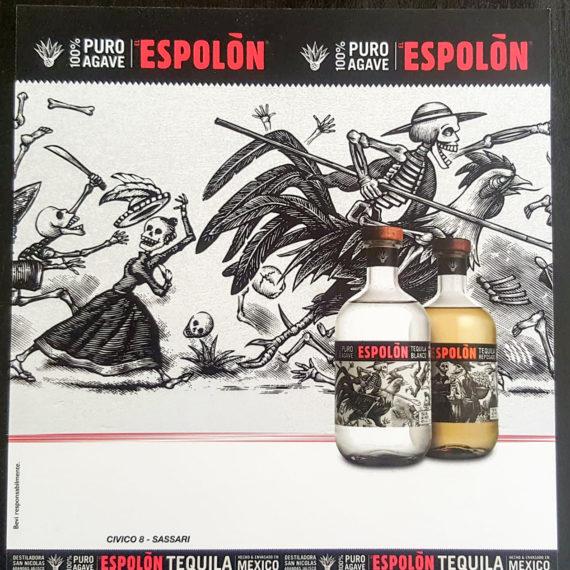 Elemento visibilità tailor made Espolon - Drink List copertina