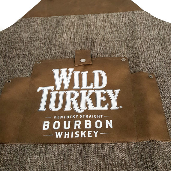 Elemento visibilità tailor made Wild Turkey - Apron grembiule-2