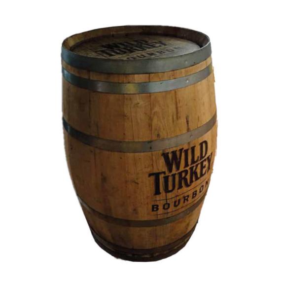 Elemento visibilità tailor made Wild Turkey - Botte legno