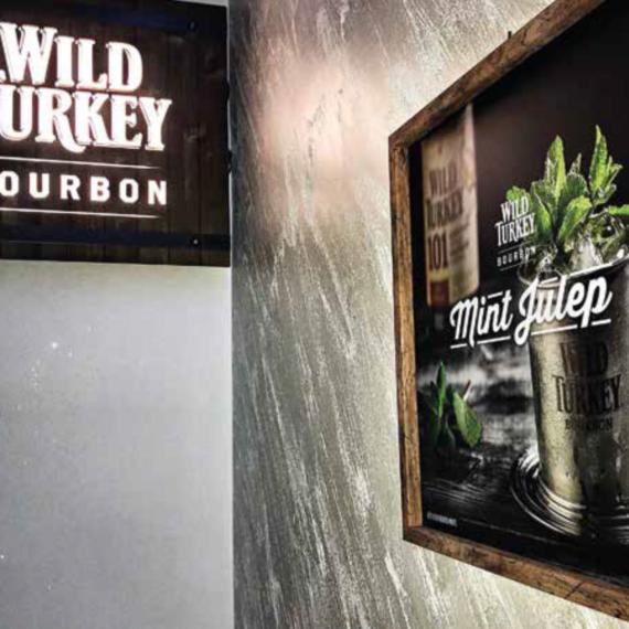 Elemento visibilità tailor made Wild Turkey - Quadro cornice legno