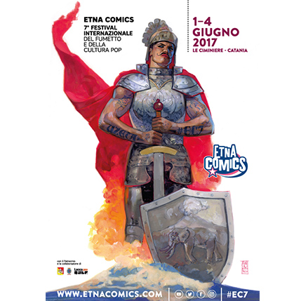 Manifesto Etna Comics 2017 Keo Marketing