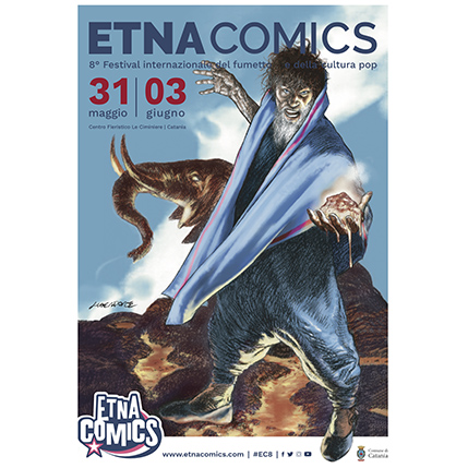 Manifesto Etna Comics 2018 Keo Marketing