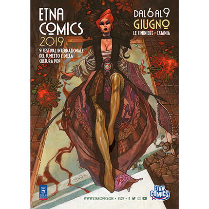 Manifesto Etna Comics 2019 keo marketing