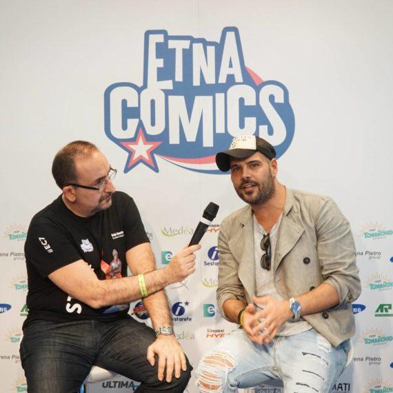 Marco D'Amore Etna Comics 2017 Keo Marketing