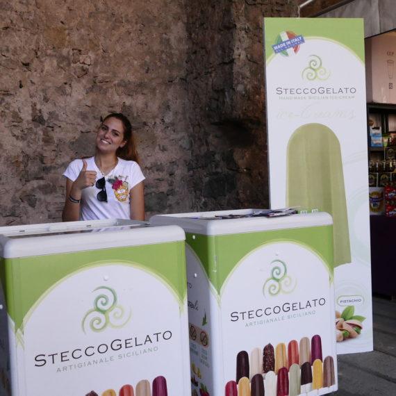 Stecco Gelato Etna Comics 2018 Keo Marketing